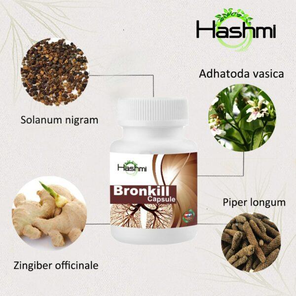 Bronkill Capsule ingredients